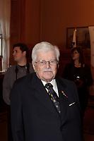 Paul Guerin-Lajoie ,<br /> le 9 octobre 2007 au cocktail du<br /> Gala des Grands Montrealais a l'Hotel de Ville de Montreal<br /> <br /> photo : Agence Quebec Presse<br />  - Pierre Roussel