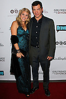 LOS ANGELES, CA, USA - NOVEMBER 18: Anita Barone, Matthew Glave arrive at the Los Angeles Premiere Of Bravo's 'Girlfriends' Guide to Divorce' held at the Ace Hotel on November 18, 2014 in Los Angeles, California, United States. (Photo by Celebrity Monitor)