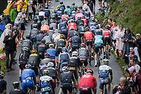 the grupetto up the Col de la Colombière<br /> <br /> Stage 8 from Oyonnax to Le Grand-Bornand (150.8km)<br /> 108th Tour de France 2021 (2.UWT)<br /> <br /> ©kramon