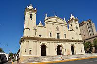 ASUNCION - PARAGUAY: Catedral de Asuncion,  Paraguay. Cathedral of Asuncion, Paraguay. (Photo:  VizzorImage / Cont.).........