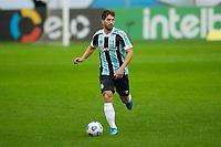 2nd June 2021; Arena do Gremio, Porto Alegre, Brazil; Copa Do Brazil, Gremio versus Brasiliense; Lucas Silva of Gremio comes forward on the ball