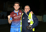 during the SSE Airtricity Play-Off match between Drogheda United and Wexford Youths at United Park on Friday 4th November 2016.<br /> Picture:  Thos Caffrey / www.newsfile.ie