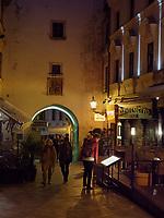 Michaeler Tor und Flaniermeile Michalska, Bratislava, Bratislavsky kraj, Slowakei, Europa<br /> Michaeler Gate and strolling promenade  Michalska, Bratislava, Bratislavsky kraj, Slovakia, Europe