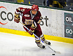 9 January 2009: Boston College Eagles' defenseman Tim Kunes, a Senior from Huntington, NY, in action during the first game of a weekend series against the University of Vermont Catamounts at Gutterson Fieldhouse in Burlington, Vermont. The Catamounts scored with one second remaining in regulation time to earn a 3-3 tie with the visiting Eagles. Mandatory Photo Credit: Ed Wolfstein Photo