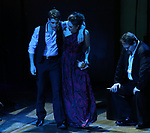 """Corey Cott, Laura Osnes and John Treacy Egan performing during the MCP Production of """"The Scarlet Pimpernel"""" Concert at the David Geffen Hall on February 18, 2019 in New York City."""