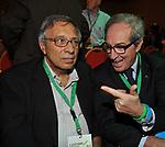FRANCO BASSANINI CON SERGIO D'ANTONI<br /> ASSEMBLEA PARTITO DEMOCRATICO - HOTEL MARRIOTT ROMA 2009