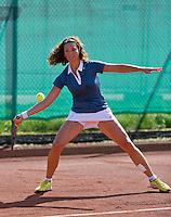 August 24, 2014, Netherlands, Amstelveen, De Kegel, National Veterans Championships, Mariëlle Spekreijse (NED)<br /> Photo: Tennisimages/Henk Koster
