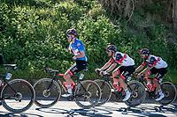 GC leader Tadej Pogačar (SVN/UAE-Emirates) dropping the morning jacket<br /> <br /> Stage 6 from Castelraimondo to Lido di Fermo (169km)<br /> <br /> 56th Tirreno-Adriatico 2021 (2.UWT) <br /> <br /> ©kramon