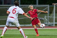 Spain's Barbara Latorre during the match of  European Women's Championship 2017 at Las Rozas, between Spain and Montenegro. September 15, 2016. (ALTERPHOTOS/Rodrigo Jimenez) /NORTEPHOTO