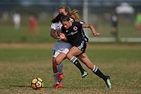 Lakewood Ranch, FL - December 08, 2017: 2017 Girls Development Academy Winter Showcase & Nike International Friendlies at Premier Sports Campus at Lakewood Ranch, FL.