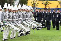 BOGOTÁ -COLOMBIA-23-MAYO-2016. El Ministro de Defensa Luis Carlos Villegas, acompañó al Presidente de la República en la ceremonia del aniversario número 76 de la Escuela de Policía General  Santander./ Minister Luis Carlos Villegas, accompanied the President of the Republic at the 76th anniversary ceremony of the Police School General Santander. Photo: VizzorImage/ Javier Casella / Mindefensa