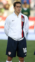 Josh Wolff in the starting eleven. The USA tied Jamaica 1-1 at SAS Soccer Park in Cary, N.C. on April 11, 2006.