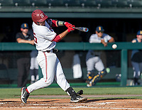 STANFORD, CA - JUNE 5: Kody Huff during a game between UC Irvine and Stanford Baseball at Sunken Diamond on June 5, 2021 in Stanford, California.