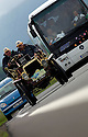 04/06/05 - CIRCUIT HISTORIQUE - PUY DE DOME - FRANCE - Commemoration officielle du Centenaire de la Course GORDON BENNETT. NAPIER D45 de 1902 - Photo Jerome CHABANNE