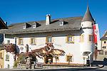 Austria, East-Tyrol, High Tauern National Park, Virgen Valley, Virgen: Restaurant Neuwirt at village centre | Oesterreich, Osttirol, Nationalpark Hohe Tauern, Virgental, Virgen: Gasthof Neuwirt im Ortszentrum