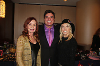 General Hospital's Jacklyn Zeman & Kristen Alderson (One Life To Live) pose with Dale Badway - The 31st Annual Jane Elissa Entertainment Extravaganza to benefit Leukemia, Cancer Research and Broadway Cares Equity Fights Aids on November 5, 2018 at the New York Marriott Marquis, New York City, New York.  (Photo by Sue Coflin/Max Photos)