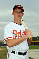 Feb 27, 2010; Tampa, FL, USA; Baltimore Orioles  outfielder Matthew Angle (81) during  photoday at Ed Smith Stadium. Mandatory Credit: Tomasso De Rosa