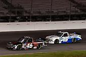 #46: Chandler Smith, Kyle Busch Motorsports, Toyota Tundra iBUYPOWER/828 Logistics, #45: Ross Chastain, Niece Motorsports, Chevrolet Silverado TruNorth/Paul Jr. Designs