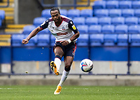 Bolton Wanderers' Nathan Delfouneso shoots at goal  <br /> <br /> Photographer Andrew Kearns/CameraSport<br /> <br /> The EFL Sky Bet League Two - Bolton Wanderers v Oldham Athletic - Saturday 17th October 2020 - University of Bolton Stadium - Bolton<br /> <br /> World Copyright © 2020 CameraSport. All rights reserved. 43 Linden Ave. Countesthorpe. Leicester. England. LE8 5PG - Tel: +44 (0) 116 277 4147 - admin@camerasport.com - www.camerasport.com