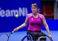 Rotterdam, Netherlands, December 12, 2017, Topsportcentrum, Ned. Loterij NK Tennis, Wheelchair Marlise Peters (NED)<br /> Photo: Tennisimages/Henk Koster