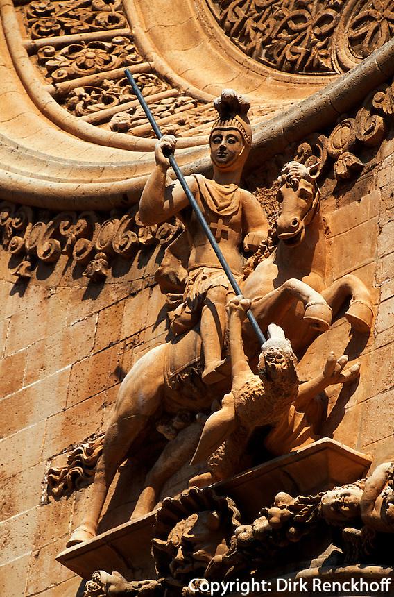 Spanien, Mallorca, Fassade der Kirche Basilica Sant Francesc in Palma de Mallorca