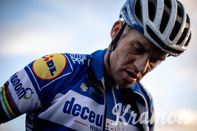 Zdenek Stybar (CZE/Deceuninck-Quick Step) post race<br /> <br /> CX Superprestige Zonhoven (BEL) 2019<br /> Elite & U23 mens race