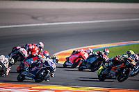 VALENCIA, SPAIN - NOVEMBER 8: Fabio Di Giannantonio during Valencia MotoGP 2015 at Ricardo Tormo Circuit on November 8, 2015 in Valencia, Spain