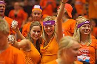 13-sept.-2013,Netherlands, Groningen,  Martini Plaza, Tennis, DavisCup Netherlands-Austria, First Rubber,  Dutch supporters <br /> Photo: Henk Koster