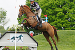 LEXINGTON, KY - APRIL 30: #86 Blackfoot Mystery and Boyd Martin compete in the Cross Country Test for the Rolex Kentucky 3-Day Event at the Kentucky Horse Park.  April 30, 2016 in Lexington, Kentucky. (Photo by Candice Chavez/Eclipse Sportswire/Getty Images)