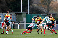 Jake Parker of Richmond Rugby during the English National League match between Richmond and Blackheath  at Richmond Athletic Ground, Richmond, United Kingdom on 4 January 2020. Photo by Carlton Myrie.