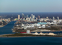 aerial photograph Port of Tampa, Florida
