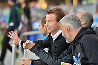 San Jose, CA - Wednesday June 28, 2017: Chris Leitch prior to a U.S. Open Cup Round of 16 match between the San Jose Earthquakes and the Seattle Sounders FC at Avaya Stadium.