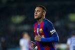 FC Barcelona's Neymar Santos Jr during the match of La Liga, between Real Sociedad and Futbol Club Barcelona at Anoeta Stadium, San Sebastian , Spain. November 27, 2016. (ALTERPHOTOS/Rodrigo Jimenez)