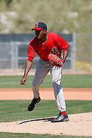 Esmerlin Jimenez - Los Angeles Angels - 2009 spring training.Photo by:  Bill Mitchell/Four Seam Images