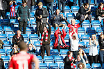 Chesterfield 1 Accrington Stanley 2, 16/09/2017. Proact Stadium, League Two. Accrington fans celebrate a goal scored by Billy Kee. Photo by Paul Thompson.