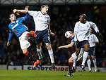 Nicky Clark with Darren Dods and Marvin Andrews