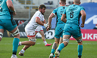 Sunday 25th October 2020 | Ulster vs Dragons<br /> <br /> Sean Reidy  during the Guinness PRO14 match between Ulster and Dragons at Kingspan Stadium in Belfast. Photo by John Dickson / Dicksondigital