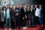 "Belen Esteban and Salvame Crew attends ""Iris Academia de Television' awards at Nuevo Teatro Alcala, Madrid, Spain. <br /> November 18, 2019. <br /> (ALTERPHOTOS/David Jar)"