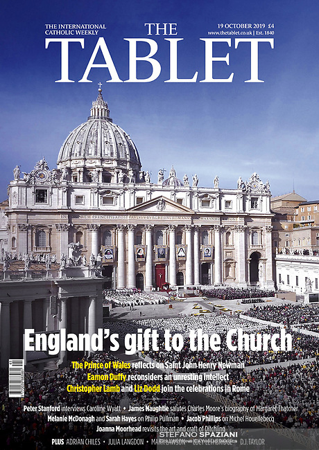 The Tablet English Magazine Pope Francis  Photograph by Stefano Spaziani 19 october 2019