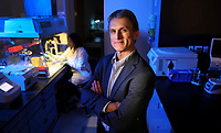 Jan.23, 2015. San Diego, CA. USA.|CEO of bioThereanostics, Nicolas Barthelemy |Photos by Jamie Scott Lytle. Copyright.