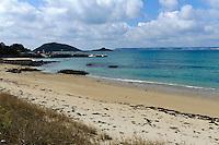 Strand an der Westküste, Insel Herm, Kanalinseln