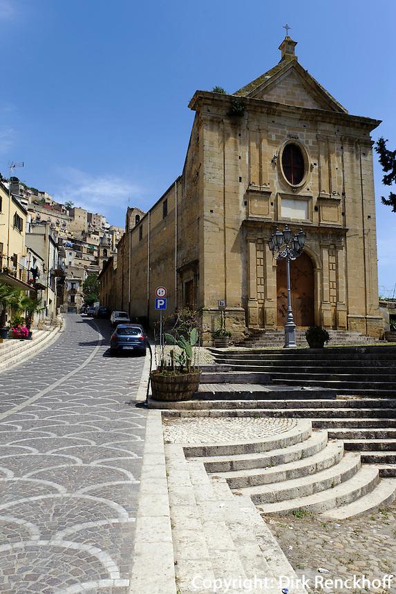 Chiesa Madre San Giovanni Batista (1611)  in Leonforte, Sizilien, Italien