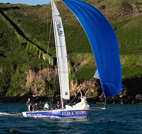 We're here! The keelboat racing season starts for the Royal Cork on Thursday July 9th.  Photo: Robert Bateman