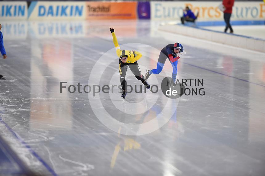 SCHAATSEN: HEERENVEEN: 31-10-2020, IJsstadion Thialf, Daikin NK Afstanden 2020, ©foto Martin de Jong