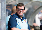 Forfar v St Johnstone….27.07.19      Station Park     Betfred Cup       <br />A concerned saints boss Tommy Wright<br />Picture by Graeme Hart. <br />Copyright Perthshire Picture Agency<br />Tel: 01738 623350  Mobile: 07990 594431
