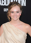 Madeline Carroll at The Lionsgate Premiere of ABDUCTION  held at The Grauman's Chinese Theatre in Hollywood, California on September 15,2011                                                                               © 2011 DVS/ Hollywood Press Agency
