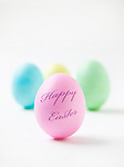 Studio shot of Easter eggs