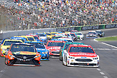 2017 Monster Energy NASCAR Cup Series<br /> O'Reilly Auto Parts 500<br /> Texas Motor Speedway, Fort Worth, TX USA<br /> Sunday 9 April 2017<br /> Ryan Blaney, Martin Truex Jr, Bass Pro Shops/TRACKER BOATS Toyota Camry<br /> World Copyright: John K Harrelson/LAT Images<br /> ref: Digital Image 17TEX1jh_04025