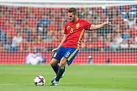 Spain's Koke Resurrección during match between Spain and Italy to clasification to World Cup 2018 at Santiago Bernabeu Stadium in Madrid, Spain September 02, 2017. (ALTERPHOTOS/Borja B.Hojas)