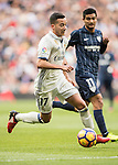 Lucas Vazquez of Real Madrid in action during their La Liga 2016-17 match between Real Madrid and Malaga CF at the Estadio Santiago Bernabéu on 21 January 2017 in Madrid, Spain. Photo by Diego Gonzalez Souto / Power Sport Images